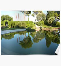 Reflections At The Villa Poster