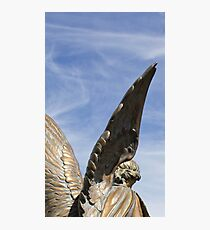Reach out - Mountain View Cemetery Angel  Photographic Print