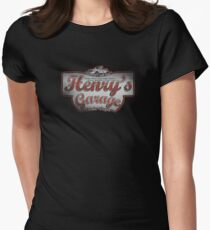 Henry's Garage Women's Fitted T-Shirt