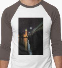 Big Ben at night Men's Baseball ¾ T-Shirt