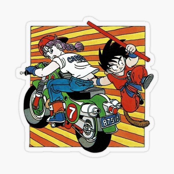 Team up W/ Bulma Transparent Sticker
