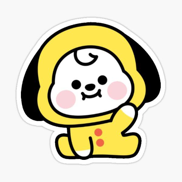 Baby BT21 Chimmy Says Hi Sticker