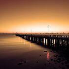 Shorncliffe Jetty at sunrise. Brisbane, Queensland, Australia. (3) by Ralph de Zilva