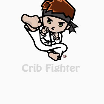 Martial Arts/Karate Boy - Jumpkick - Crib Fighter (light) by fujiapple