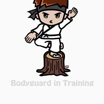 Martial Arts/Karate Boy - Crane one-legged stance - Bodyguard by fujiapple