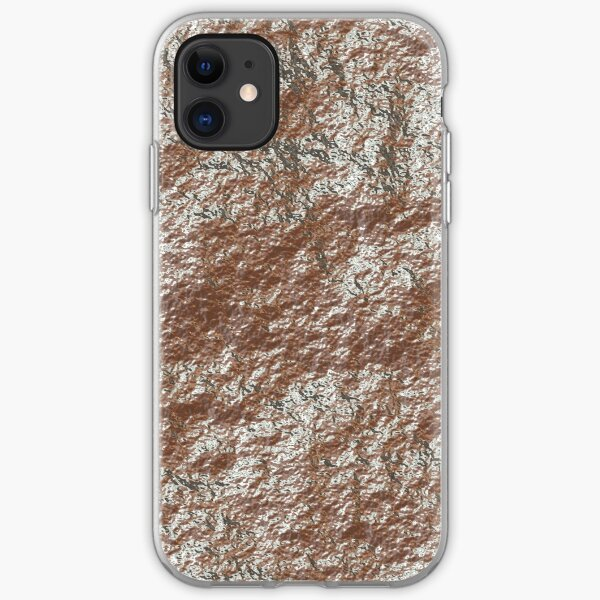 Decorations with shiny stone iPhone Soft Case