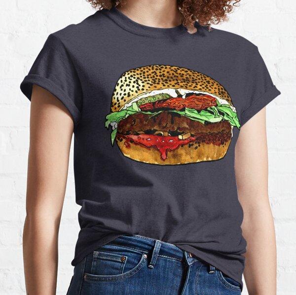 The vegan hamburger Classic T-Shirt