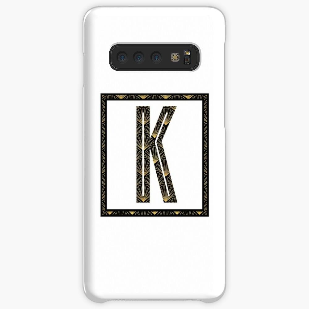 K - Art Deco Edition Case & Skin for Samsung Galaxy