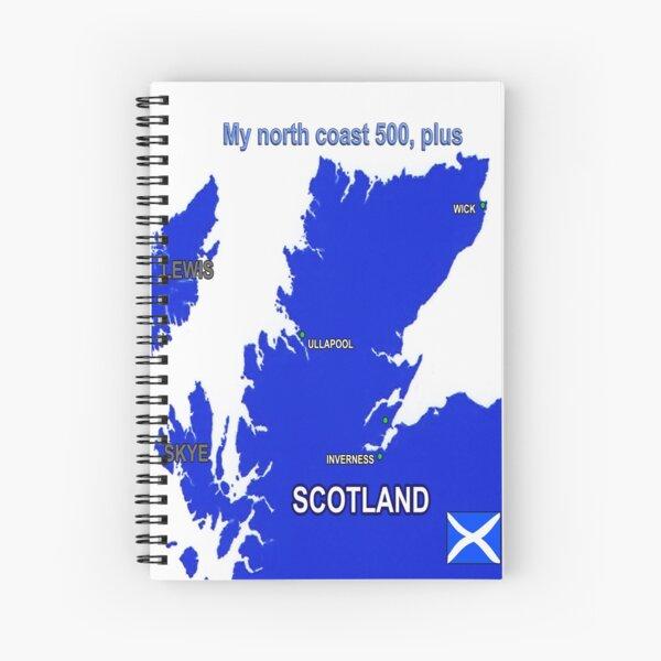 North Coast 500, plus Spiral Notebook