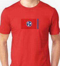 Tennessee State Flag - USA Nashville Memphis - Bedspread T-Shirt Sticker Unisex T-Shirt