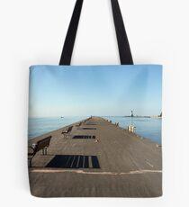 The Dock at Port Dalhousie Canada Tote Bag
