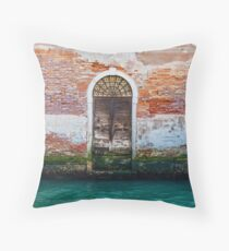 While in Venice Throw Pillow