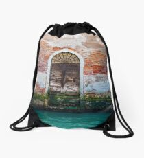 While in Venice Drawstring Bag