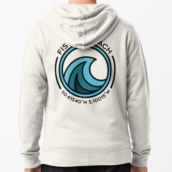Fistral Beach Zipped Hoodie