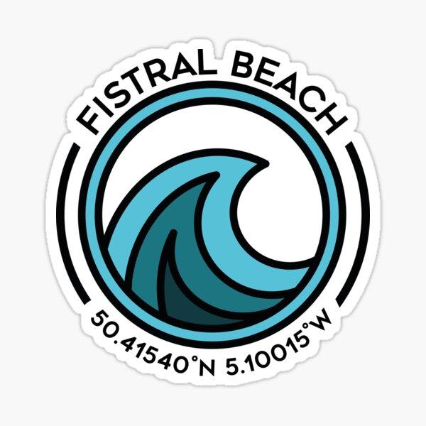 Fistral Beach Sticker