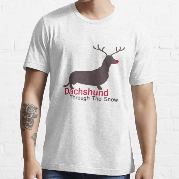 Dachshund Through The Snow Essential T-Shirt
