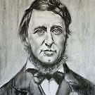 Henry David Thoreau by Hidemi Tada
