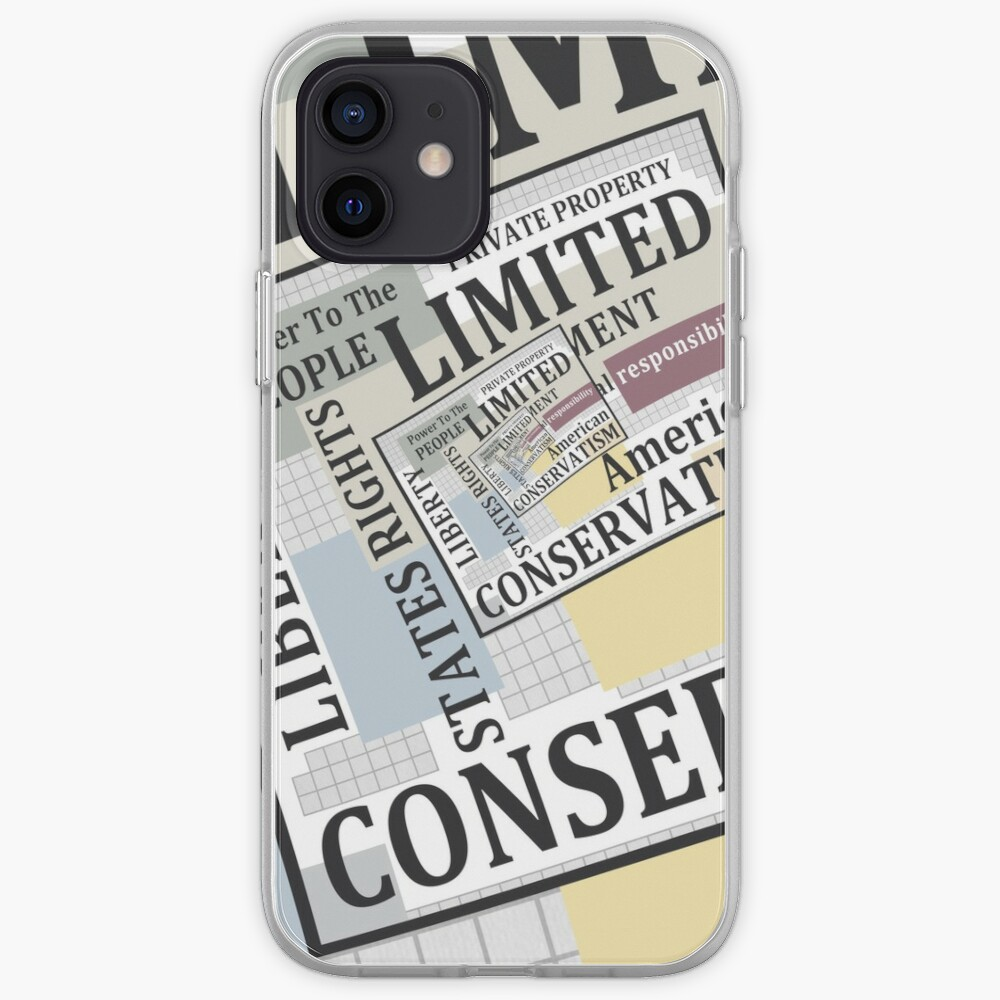 Limited Government iPhone Case & Cover