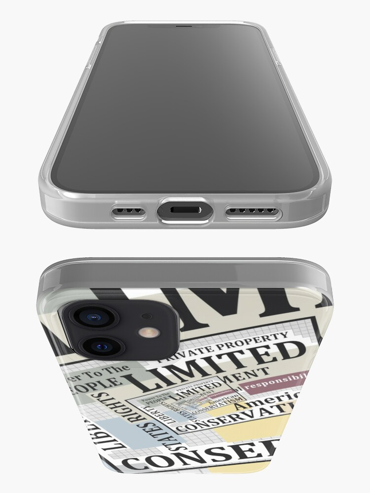 Alternate view of Limited Government iPhone Case & Cover