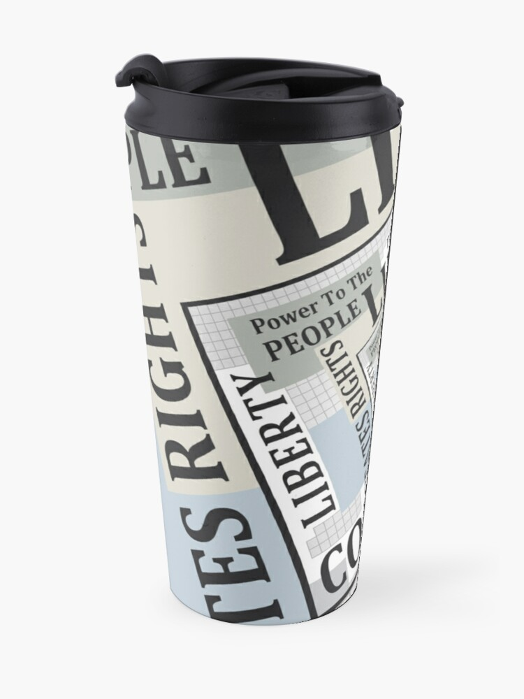 Alternate view of Limited Government Travel Mug