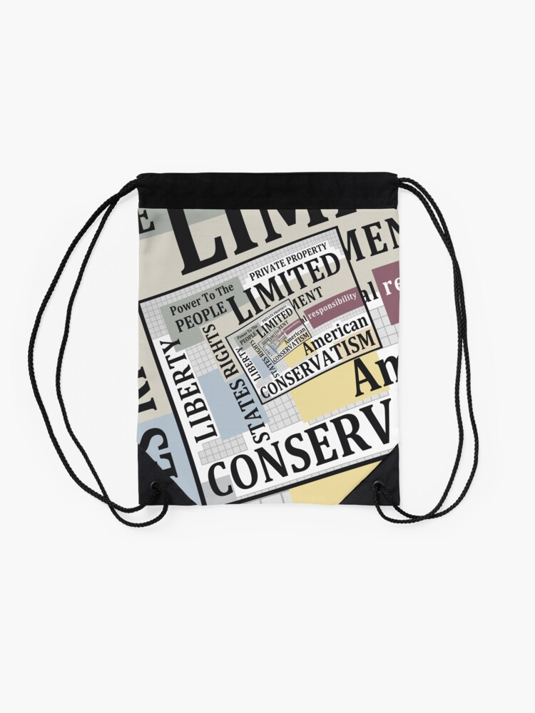Alternate view of Limited Government Drawstring Bag