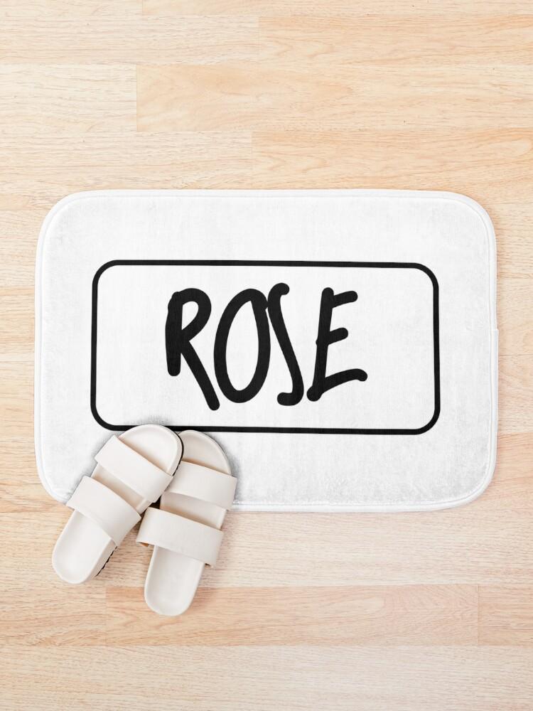Alternate view of Rose - Sharpie Edition Bath Mat