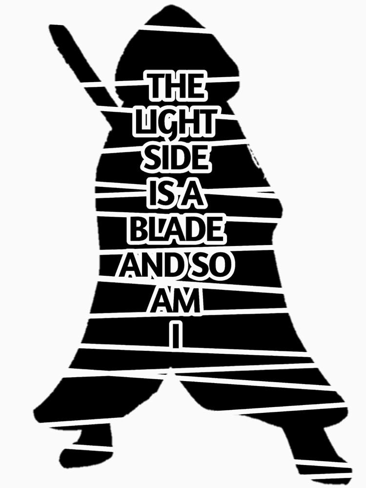 Blade of Light by MJMunoz