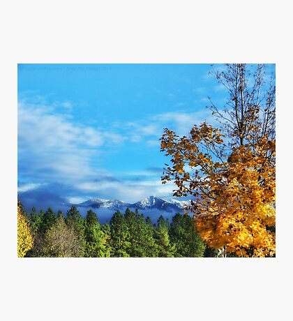 The End of Indian Summer Photographic Print
