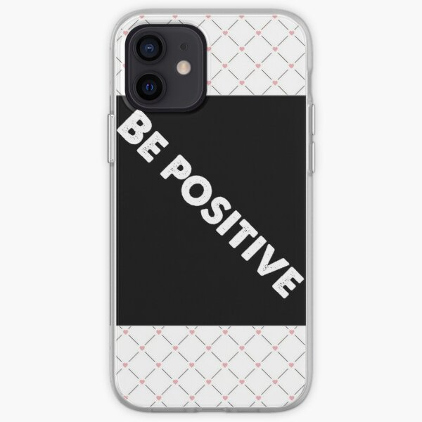 Positive thinking  iPhone Soft Case