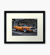 A True American Muscle Car!!!! Framed Print