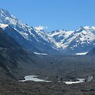 Tasman Glacier. by Adam Burke