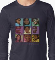 Pop art Geckos Long Sleeve T-Shirt