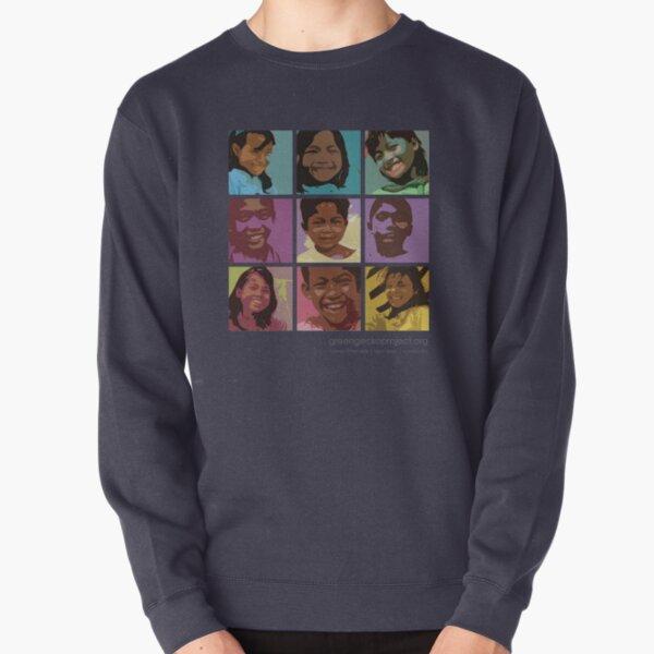 Pop art Geckos Pullover Sweatshirt