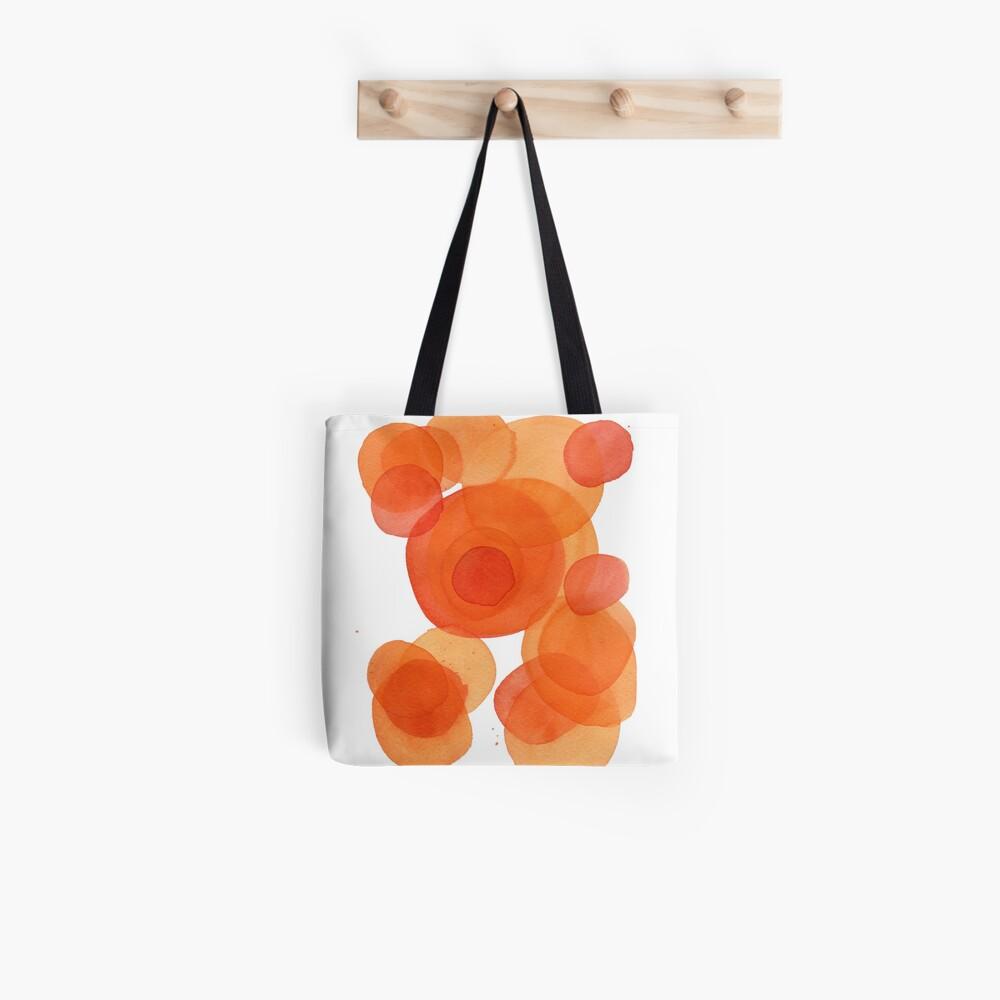 Orange drops, watercolor transparencies Tote Bag