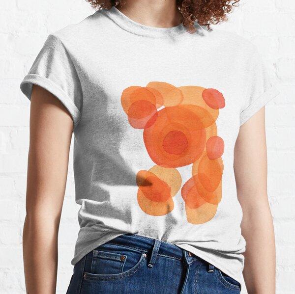 Orange drops, watercolor transparencies Classic T-Shirt
