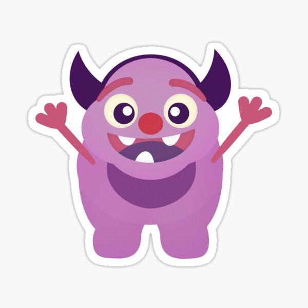 Happy Little Monster Sticker