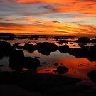 Vivid sunset by Adam Burke