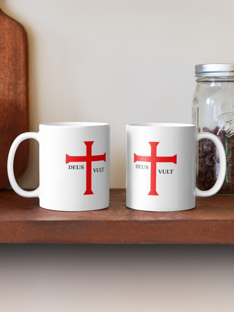 Alternate view of DEUS VULT (God wills it!) Mug Mug