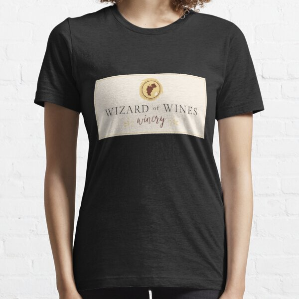 Wizard of Wines - Wine Label Essential T-Shirt