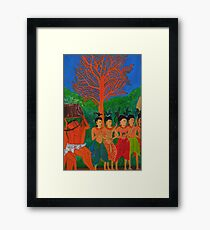 LADIES OF THE COURT by Srey Nao Framed Print