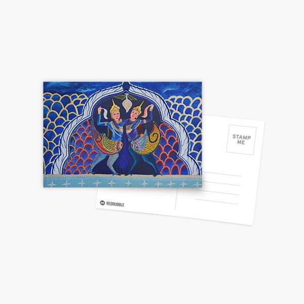 STRENGTH OF KHMER WOMEN by Pita Postcard