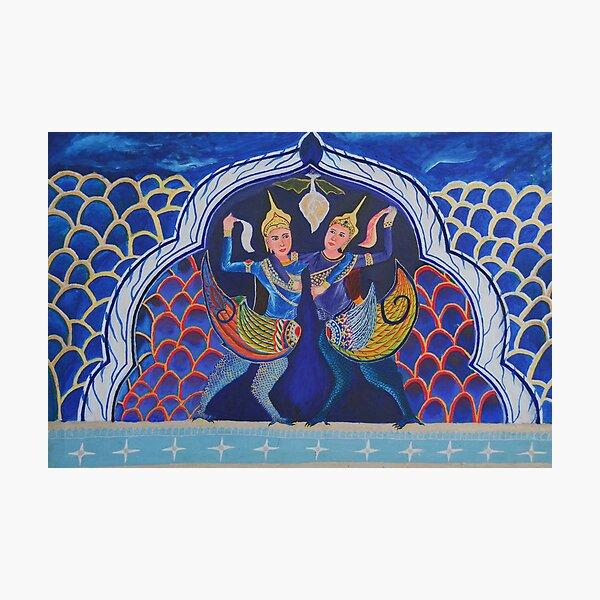 STRENGTH OF KHMER WOMEN by Pita Photographic Print