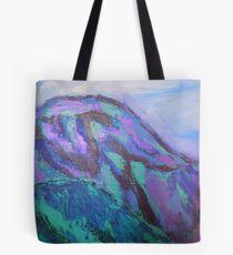 landscape-blue mountains Tote Bag