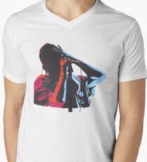 Camiseta para hombre de cuello en v Julián Casablancas