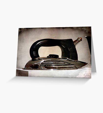 Grandma's Iron © Greeting Card