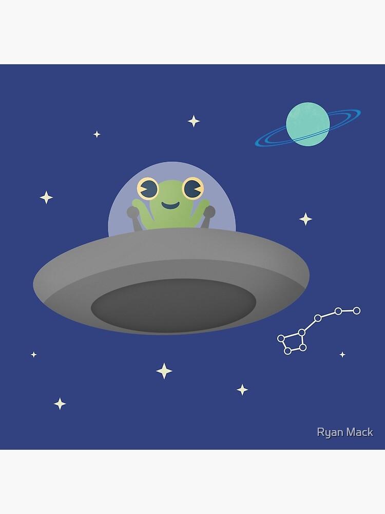 Happy Little Alien by ryanpmack