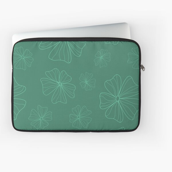 Aleiah Flower Collection Spring Seamless Surface Pattern Laptop Sleeve