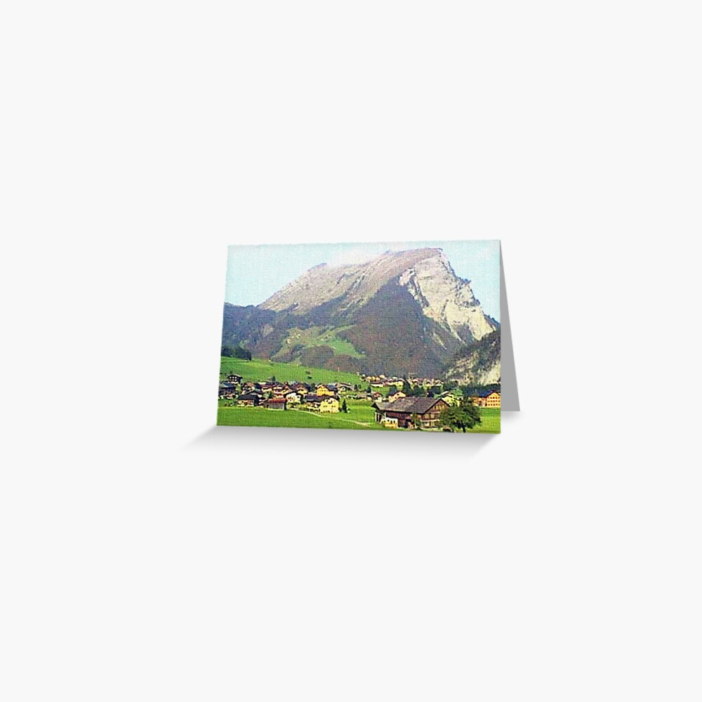 """""""Village - Reizlern, Austria"""" Greeting Card"""