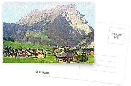 """""""Village - Reizlern, Austria"""" by Michelle Lee Willsmore"""