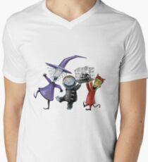 Lock, Shock, and Barrel Men's V-Neck T-Shirt